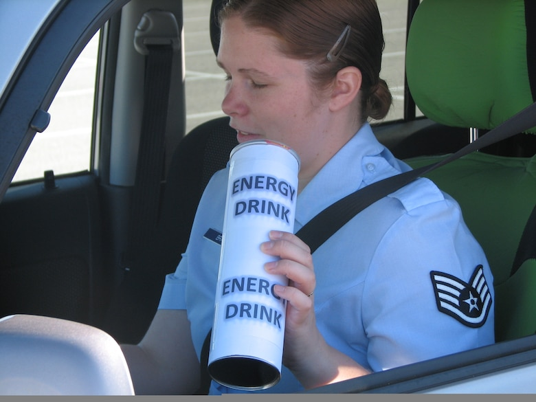 The dangers of drinking and driving are widely publicized, but many people don't realize that drowsy driving can be just as fatal. (U.S. Air Force photo/Tech. Sgt. Richard Page)