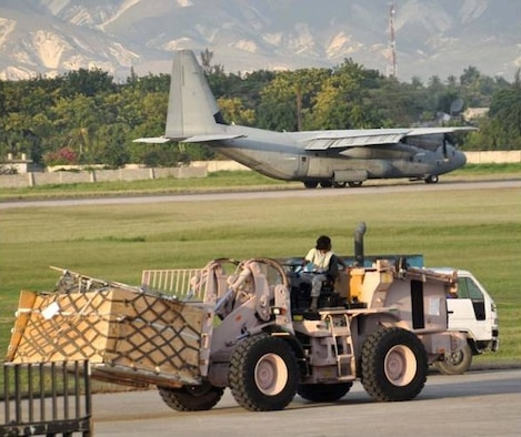 AFOSR-funded Colorado State University researchers are trying to solve computationally difficult problems related to logistics planning. (Credit: U.S. Air Force Photo, Capt. Dustin Doyle.)