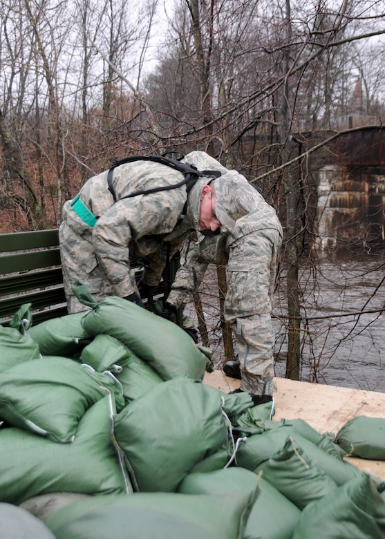 Over 1000 members of the Massachusetts National Guard answered the call to duty in response to the historic floods of March 2010.