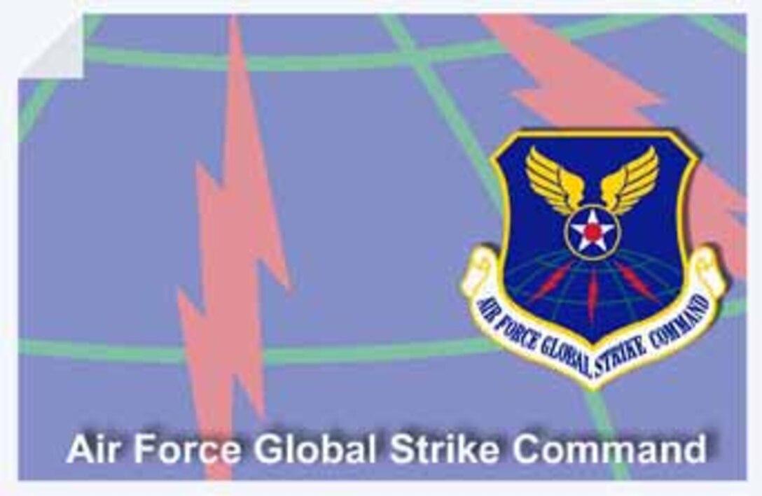 Air Force Global Strike Command web banner. (U.S. Air Force graphic by Andy Yacenda, Defense Media Activity-San Antonio)