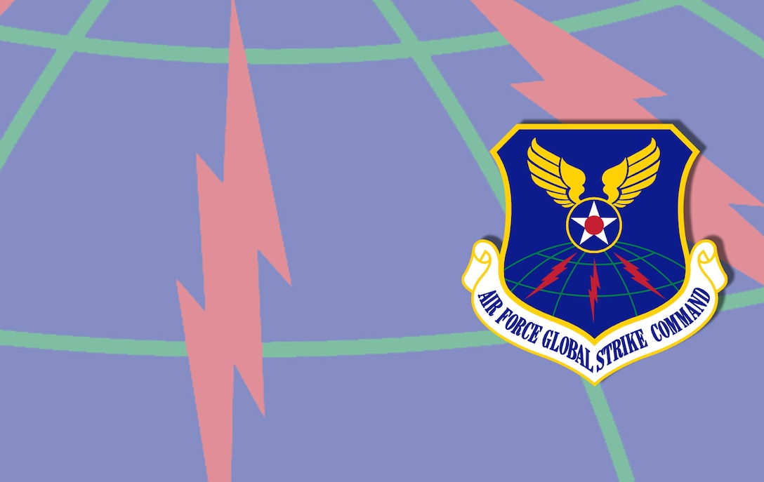 Air Force Global Strike Command fact sheet banner. (U.S. Air Force graphic by Andy Yacenda, Defense Media Activity-San Antonio)