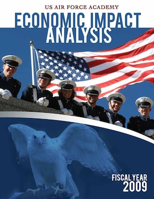 The Air Force Academy's Financial Management Directorate released its Economic Impact Analysis April 9, 2010, for Fiscal Year 2009. (U.S. Air Force image)