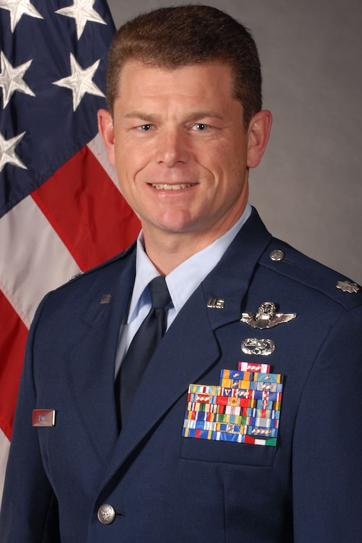 Lt. Col. Samuel Skaggs, 314th Airlift Wing plans and programs chief
