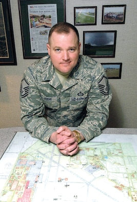 Master Sgt. Sam Pugh is the Air Force Materiel Command Senior Weather NCO of the Year.