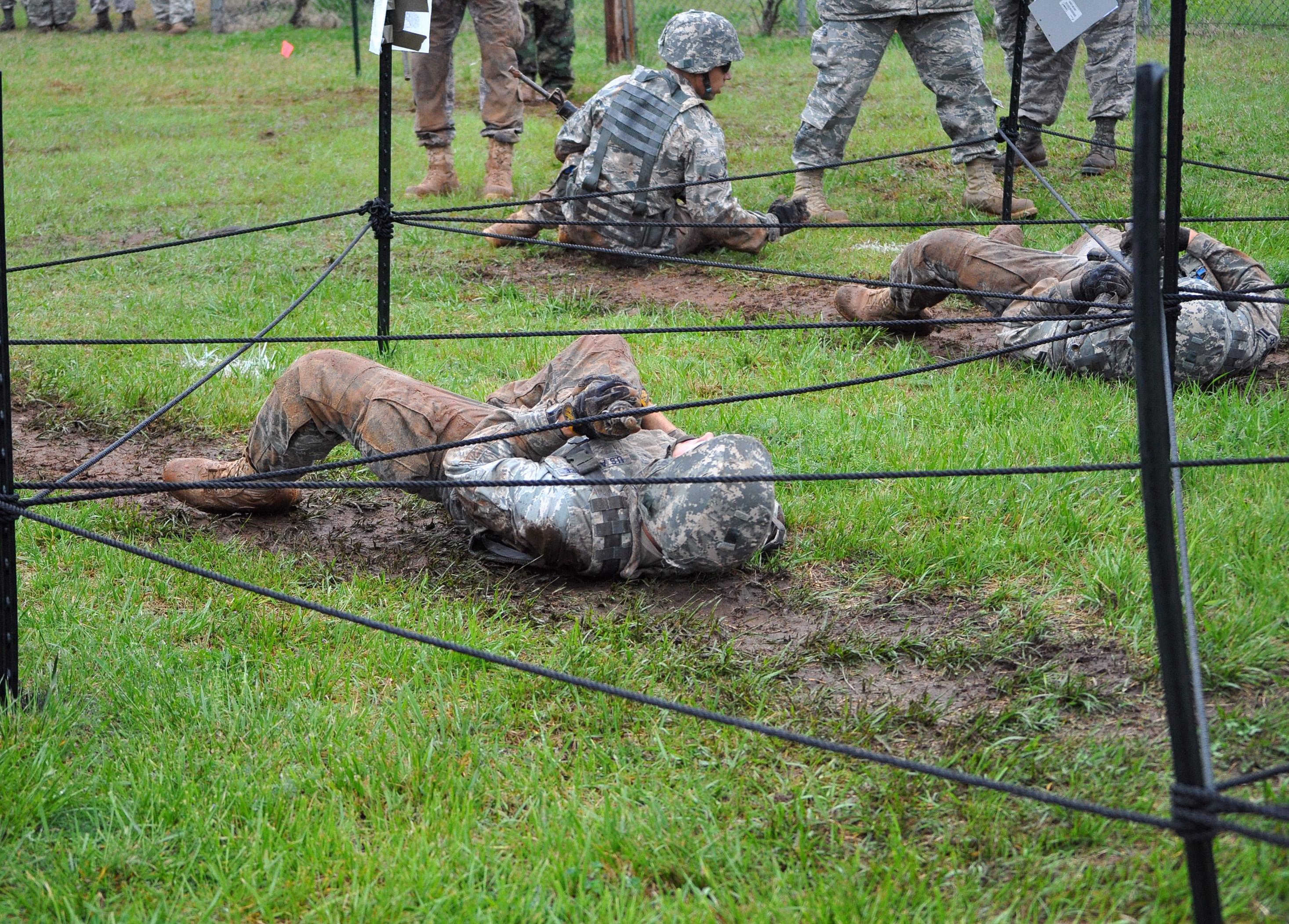 Teams tackle Combat Challenge