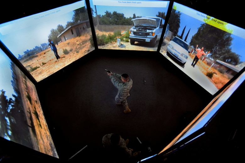 Virtual world prepares mobility Airmen for real mission ...