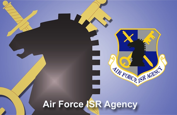 Air Force Intelligence, Surveillance and Reconnaissance Agency fact sheet banner. (U.S. Air Force graphic by Andy Yacenda, Defense Media Activity-San Antonio).
