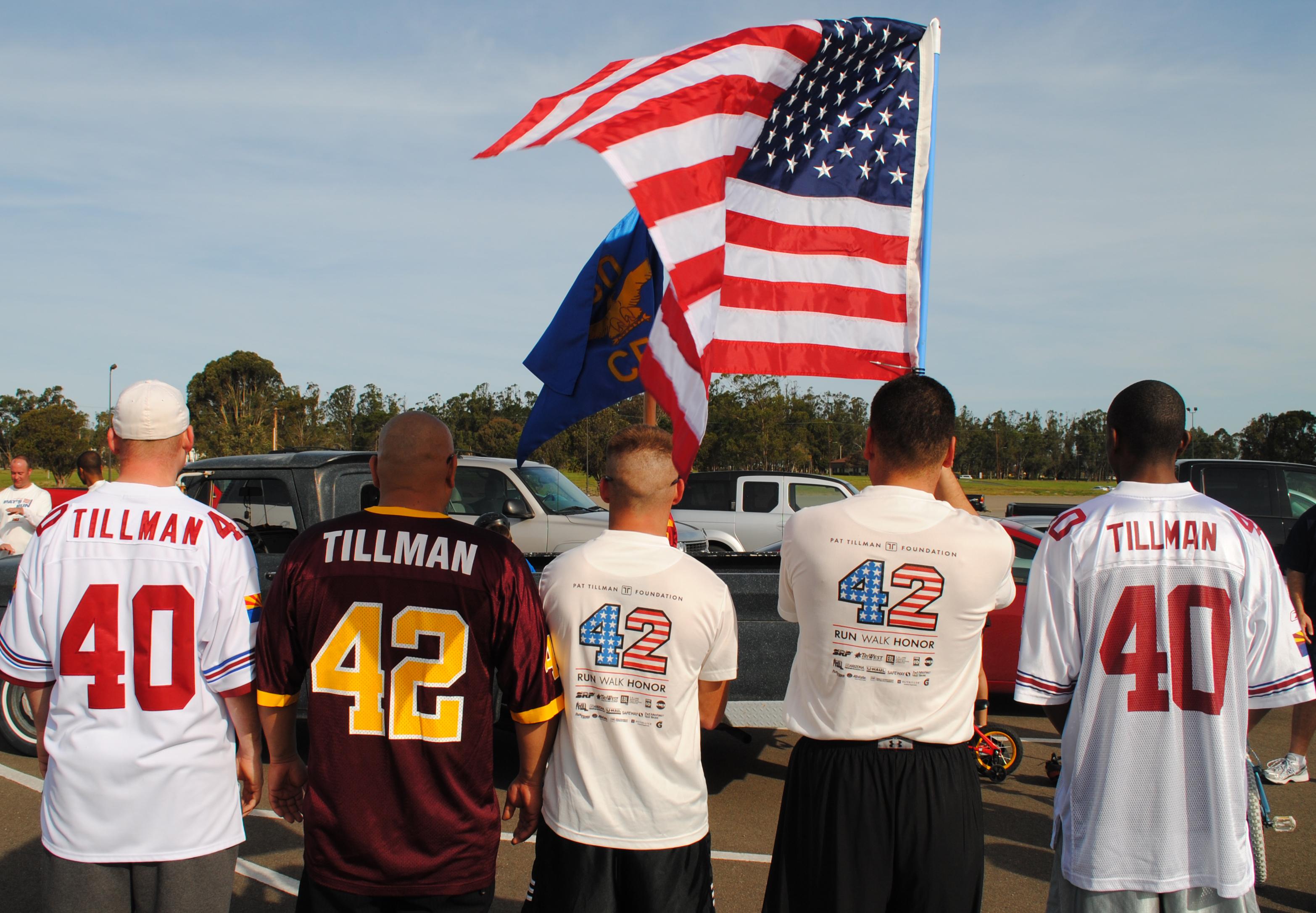 new arrival ced2a ffce1 CES Airmen run in remembrance of Pat Tillman > Vandenberg ...