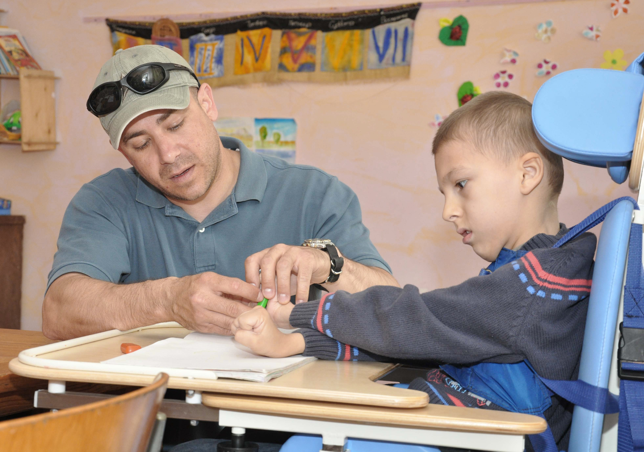 Classroom Design For Disabled Students : Manas airmen help support disabled children in kyrgyzstan