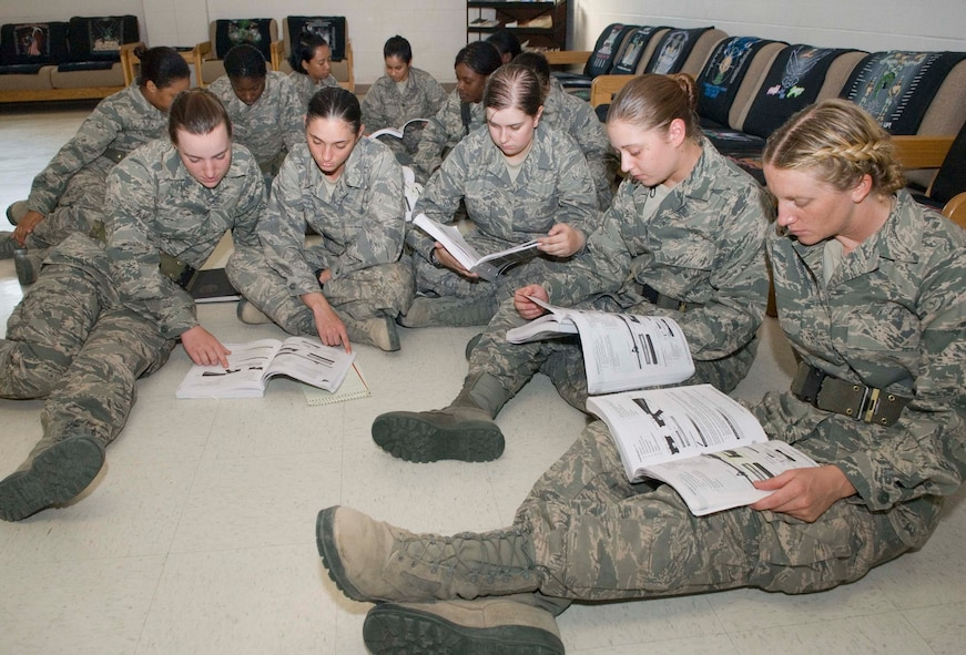 BASIC MILITARY TRAINING - Air Force Reserve