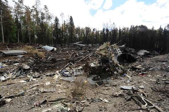 Photos Of C 17 Crash Site Released Gt Pacific Air Forces