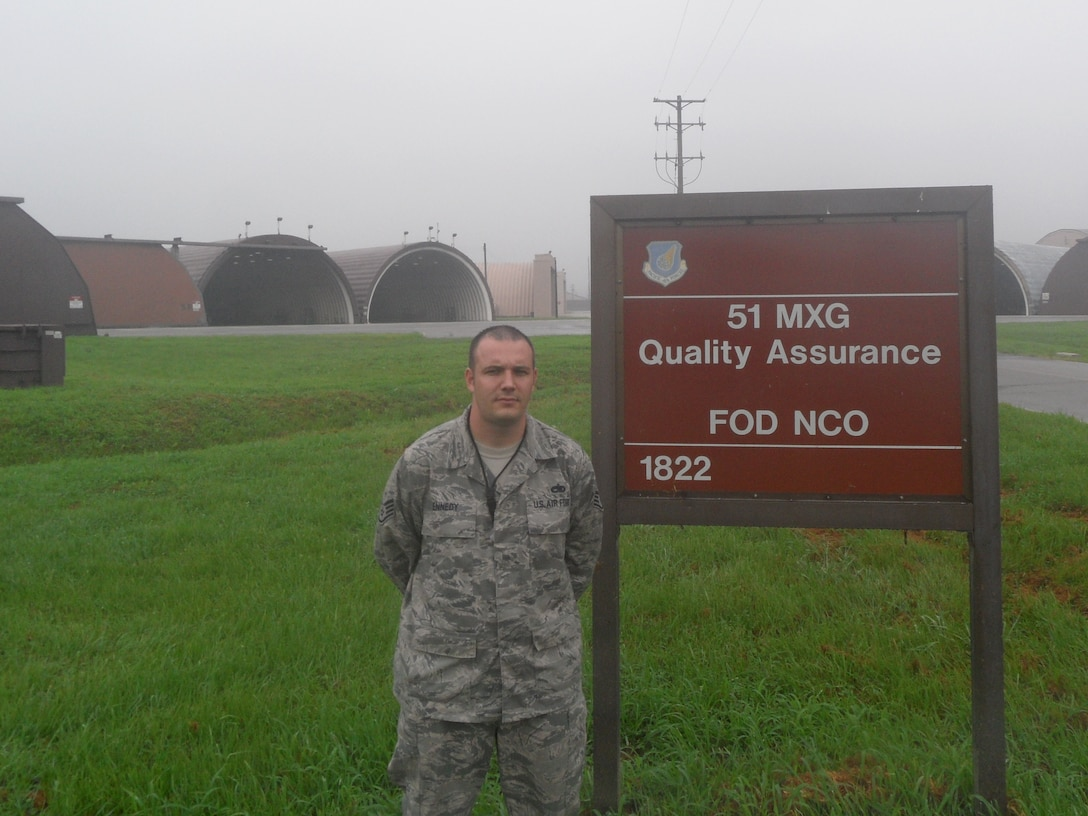 Staff Sgt. Nickolas Kennedy, 51st Maintenance Operations Squadron