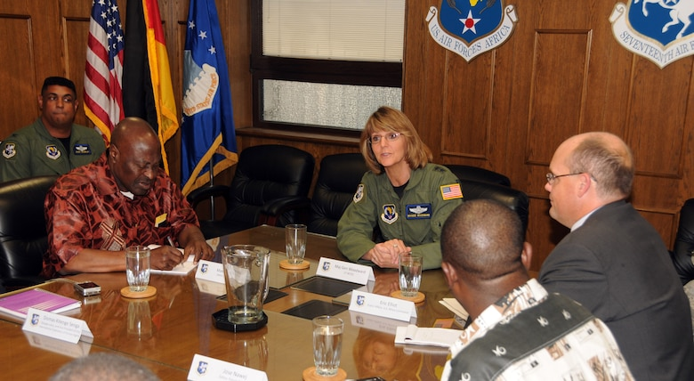 RAMSTEIN AIR BASE, Germany -- 17th Air Force Commander Maj. Gen. Margaret