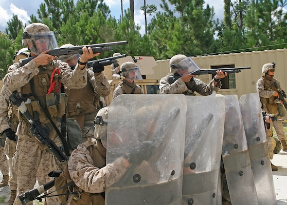 Security Forces Marines complete predeployment training aboard ...