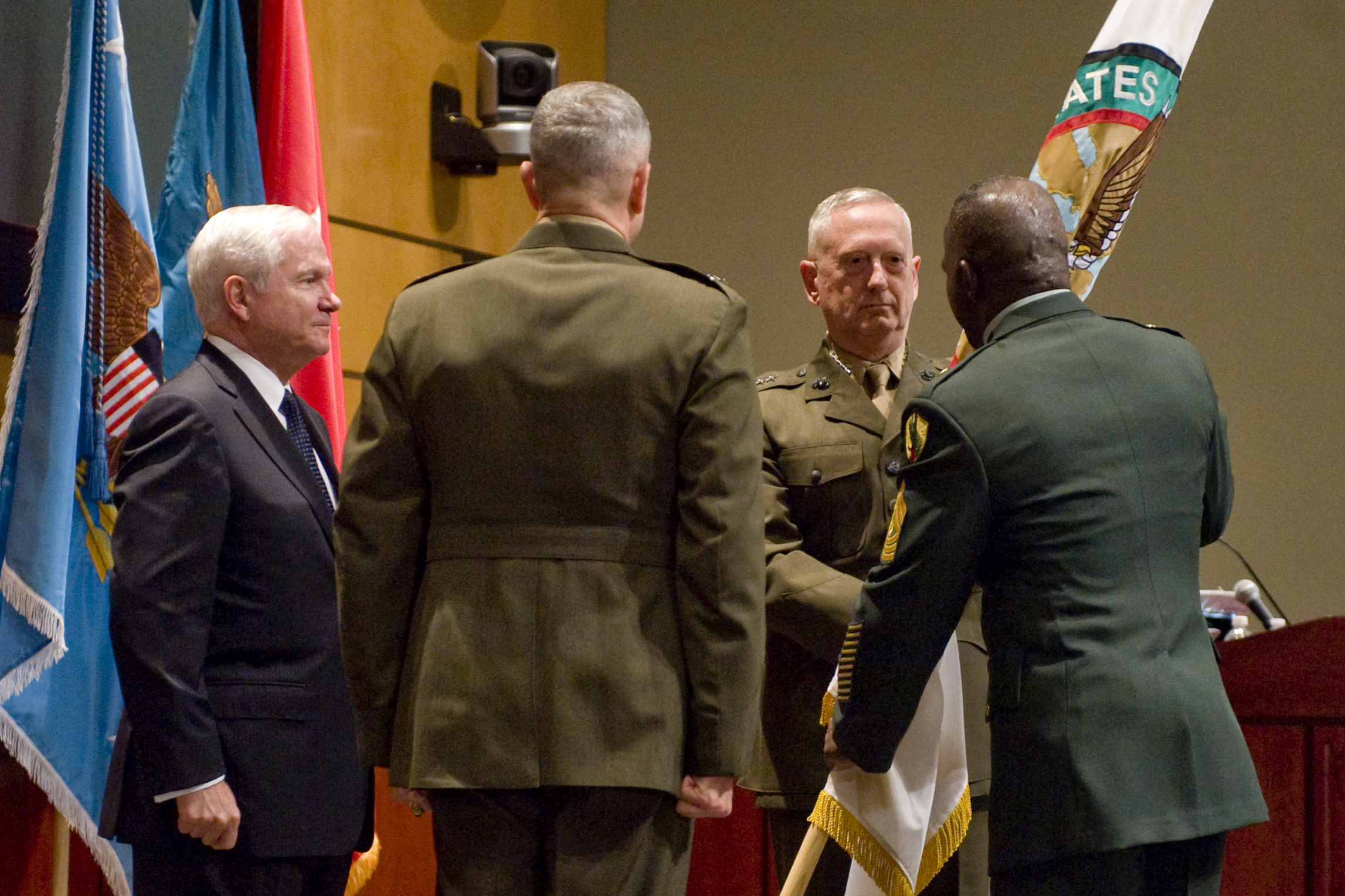 Gates: Mattis brings experience, continuity to Central ...