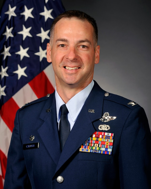 Col. Mark Czelusta, 314th Airlift Wing commander
