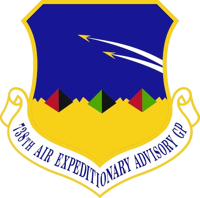 738th Air Expeditionary Advisory Group Emblem
