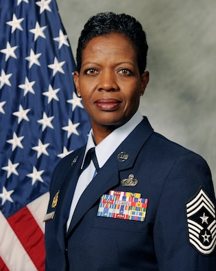 Chief Master Sergeant SaRita L. Lathan, 48th Fighter Wing command chief