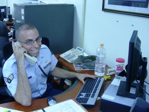 Senior Airman Timothy Data, 51st Communications Squadron