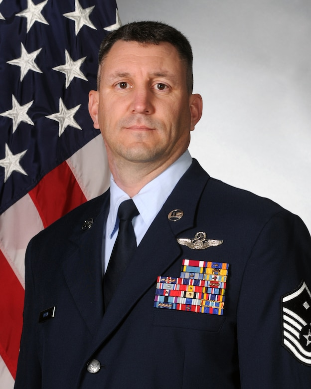 Master Sgt. Gary Moon, 714th Training Squadron first sergeant