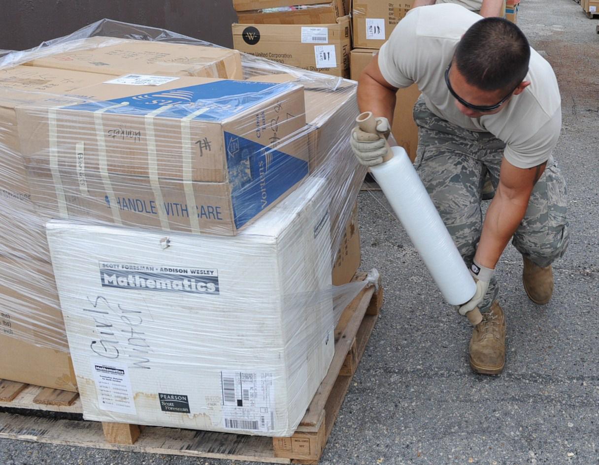 4th LRS Airmen, Goldsboro community unite to aid Afghans