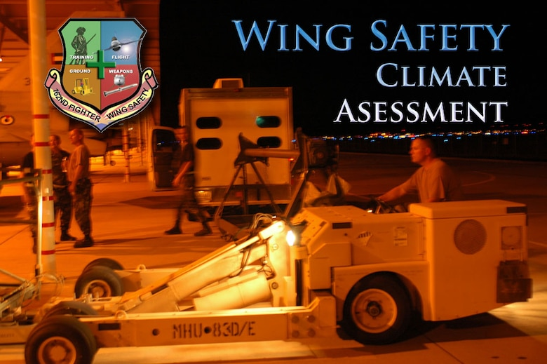 Take the Safety Climate Assessment Survey.
