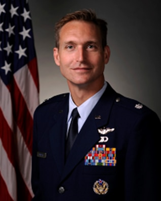 Lt. Col. Michael Madsen, 17th Airlift Squadron commander