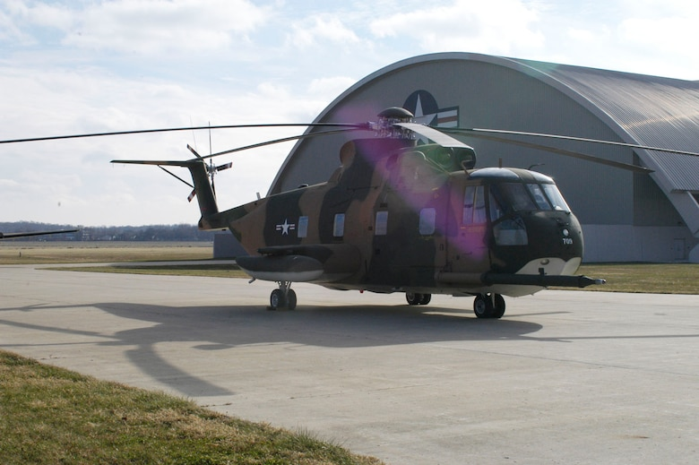 "DAYTON, Ohio -- Sikorsky HH-3 ""Jolly Green Giant"" at the National Museum of the U.S. Air Force. (U.S. Air Force photo)"