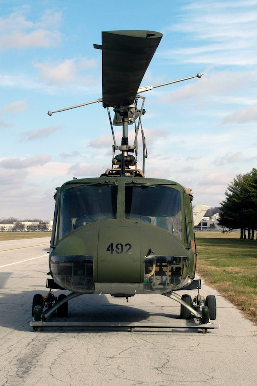 DAYTON, Ohio -- Bell UH-1P Iroquois at the National Museum of the United States Air Force. (U.S. Air Force photo)