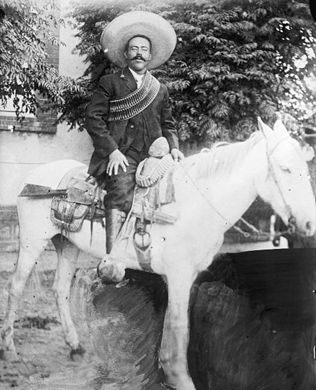 Poncho Villa, 1916.  (Courtesy of Wikipedia)
