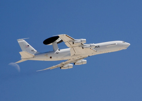 The Electronic Systems Center is working on a next generation identification friend or foe system for AWACS aircraft. The system will help allow for earlier identification of targets, minimizing the chance of fratricide. (U.S. Air Force photo by Senior Master Sgt. Robert J. Sabonis)