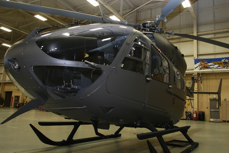 The UH-72A Lakota Helicopter is the newest aircraft to join the Georgia Army Guard Aviation fleet. They will provide the Georgia guard with additional support capabilities for homeland security and homeland defense missions. (U.S. Air Force Photo/Don Peek)