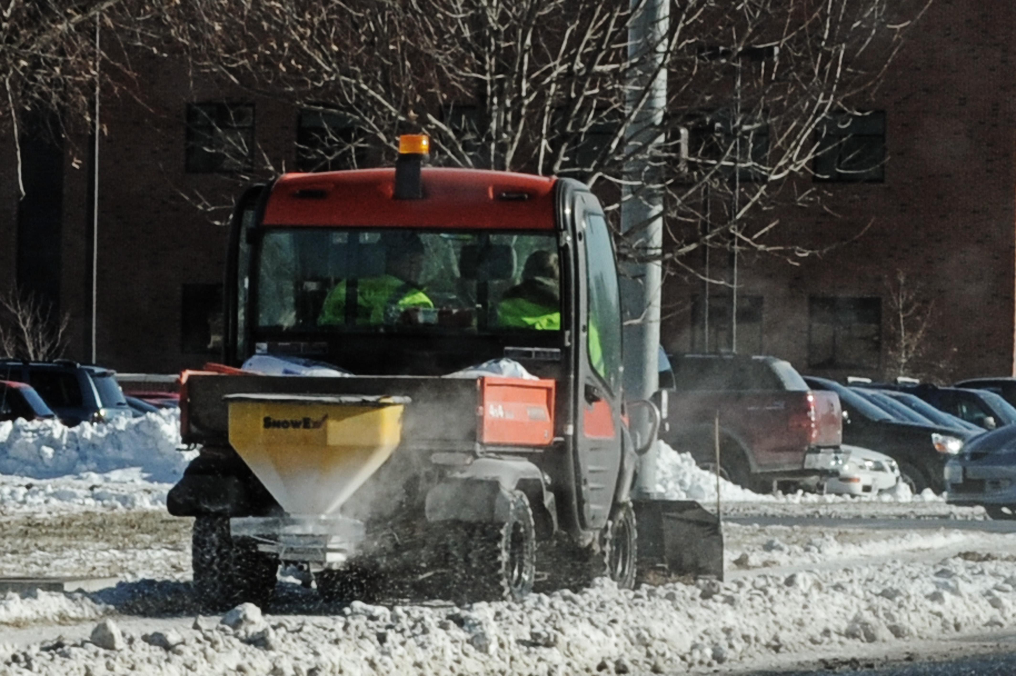 Scott Receives First Snow Fall Of Winter Season