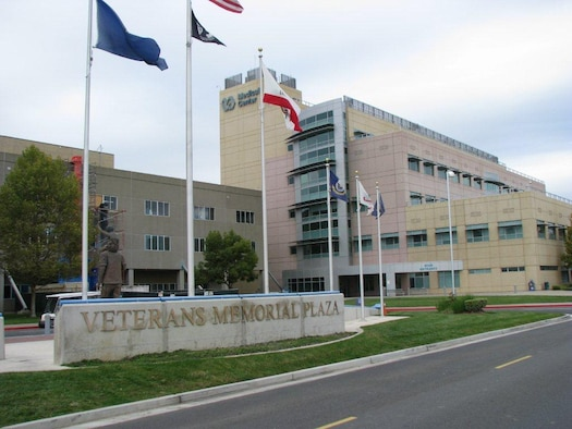 Sacramento Veterans' Affairs Medical Center, with more than 800 employees, is one of Mather's biggest employers. Operated by the federal government, the facility provides medical, surgical, mental health and diagnostic services to some 1,300 veterans from throughout Northern California every day. (Photo by Susan Wolbarst)