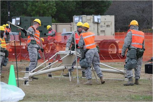 The 689th Combat Communications Wing's mission is to train, deploy and deliver expeditionary and specialized communications, air traffic control and landing systems for Humanitarian Relief Operations and dominant combat operations. Courtesy photo