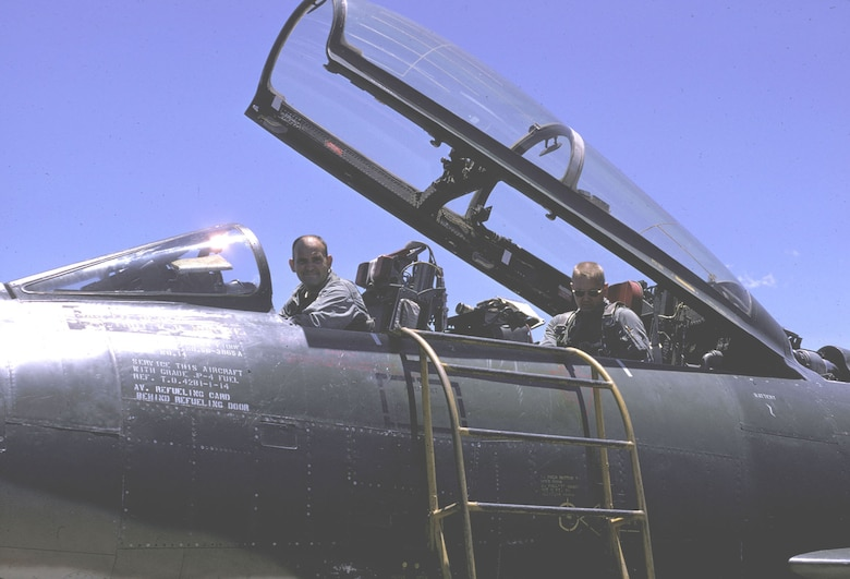 Both Misty FAC aircrewmen were fully qualified fighter pilots. During a mission, the front-seater usually flew the aircraft while the back-seater navigated and observed. (U.S. Air Force photo)