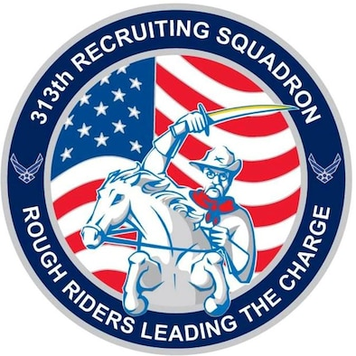 313th Recruiting Squadron (U.S. Air Force graphic)