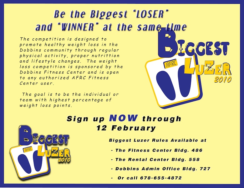 Be the 'Biggest Luzer' > Dobbins Air Reserve Base > Article