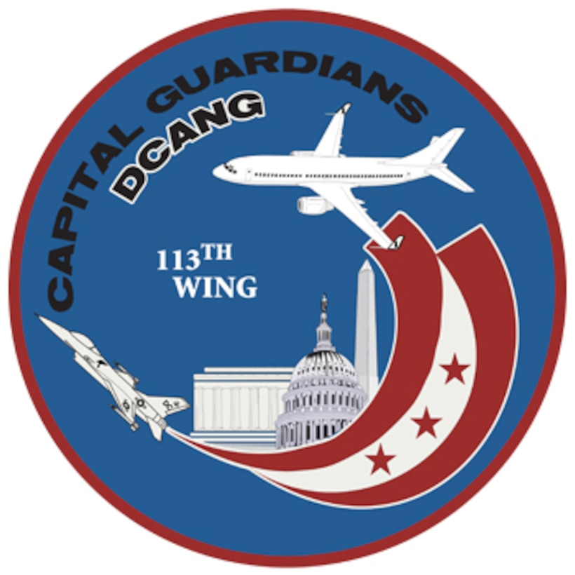 113th Wing DC Air National Guard Seal