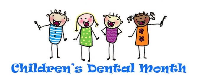 OFFUTT AIR FORCE BASE, Neb. -- February is Children's Dental Health Month and the 55th Dental Squadron encourages all children to brush their teeth twice a day, use dental floss and have a dental exam performed once a year. Members of Team Offutt can make a dental appointment for their children by calling the Ehrling Bergquist Clinic, at 232-CARE. U.S. Air Force graphic by Ronald St. Pierre