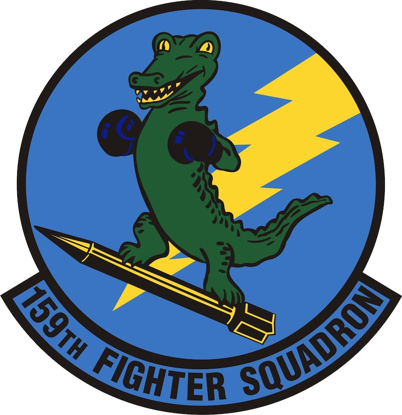 Unit patch for the 159th Fighter Squadron