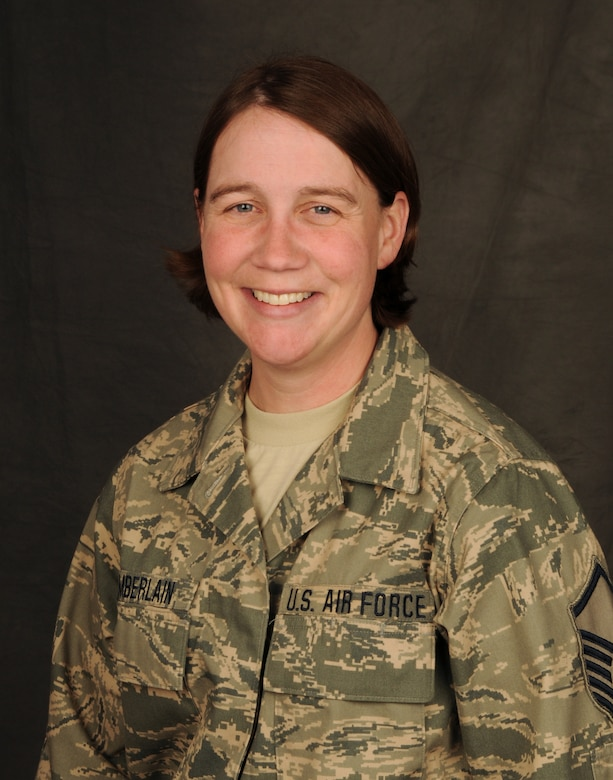 Master Sgt. Alexandria Chamberlain is the new Retention Office Manager for the Utah Air National Guard.  U.S. Air Force Photo by: Staff Sgt. Emily Monson (RELEASED)
