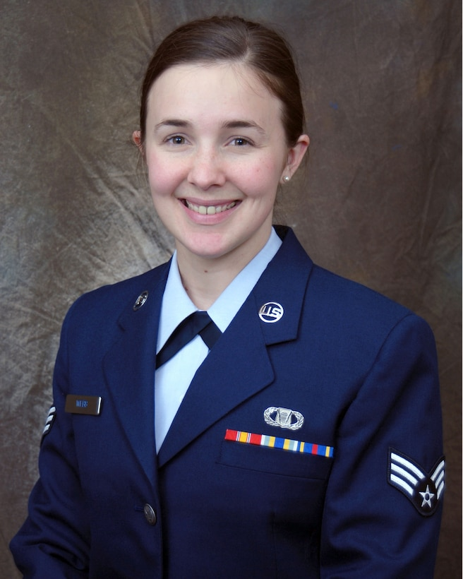 Senior Airman Webb, 118th Airlift Wing Command Post Controller, was selected as the Tennessee Airman of the Year for 2009.
