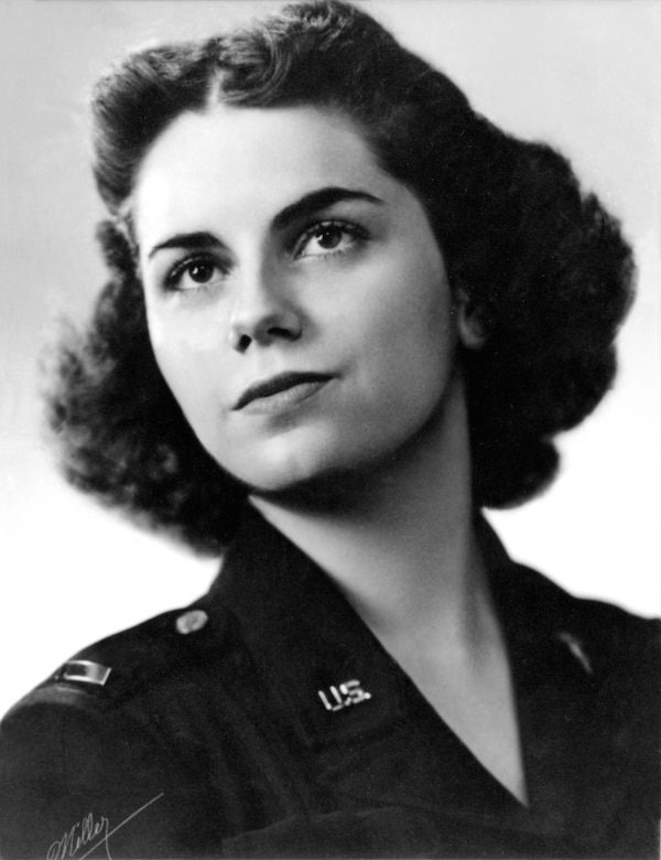 1st Lt. Mary L. Hawkins. (U.S. Air Force photo)