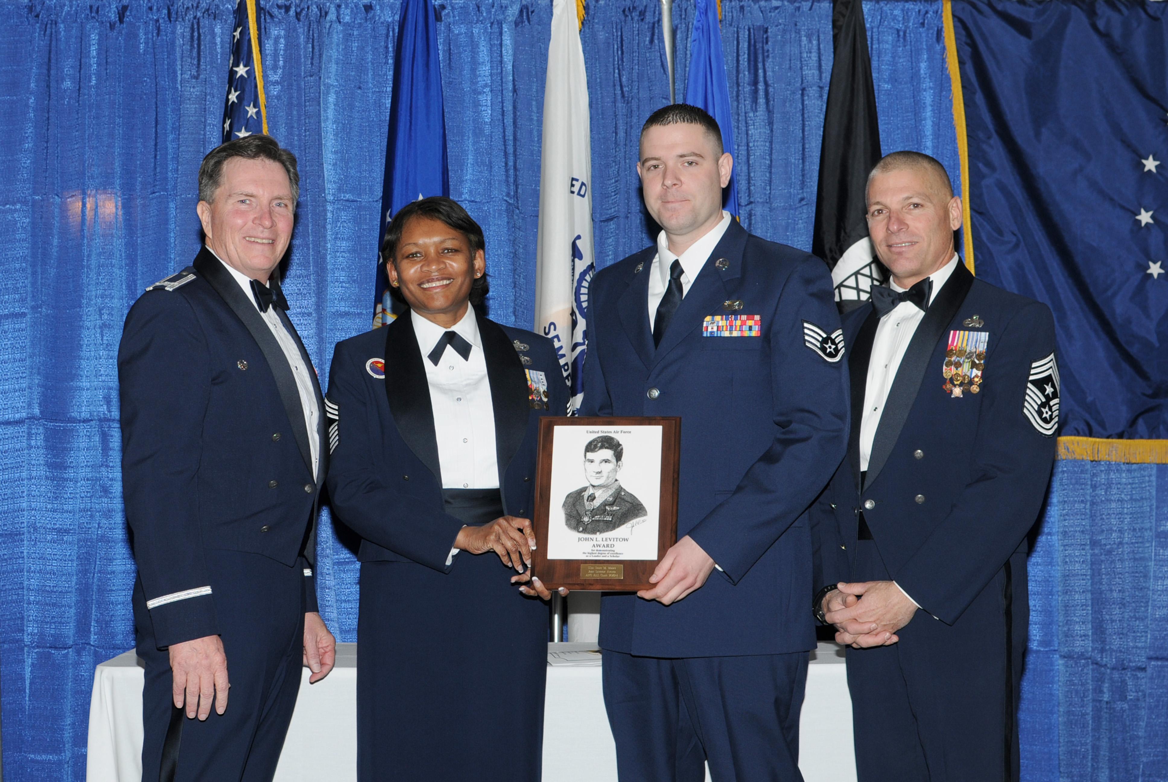 Iowa Guardsman Is Top Graduate At Airman Leadership School 132d