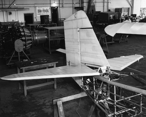 The museum's P-6E airframe was restored by the Department of Aviation Technology at Purdue University in 1963. (U.S. Air Force photo)