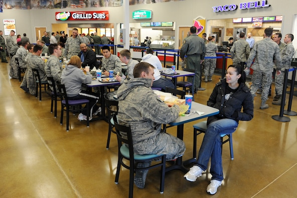 Base Exchange Food Court Opens For Business Gt Little Rock