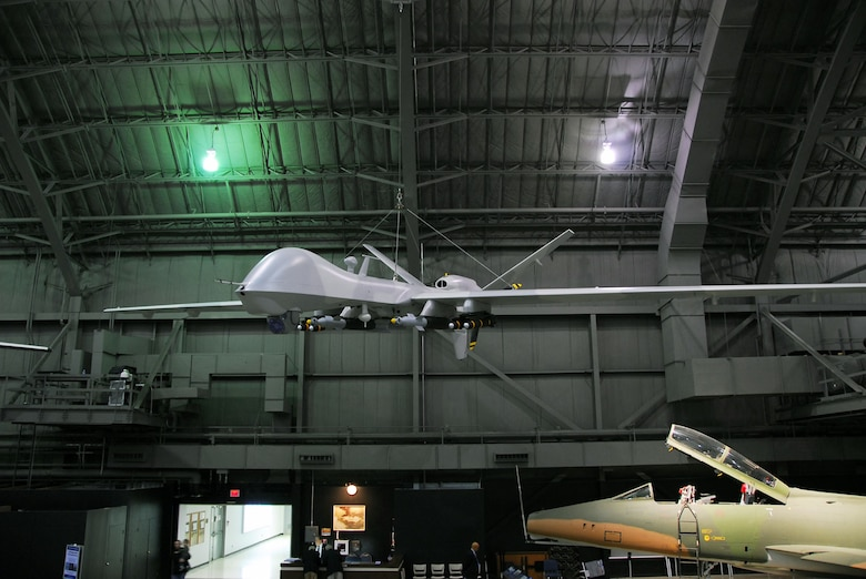 DAYTON, Ohio -- General Atomics YMQ-9 Reaper at the National Museum of the U.S. Air Force. (U.S. Air Force photo)
