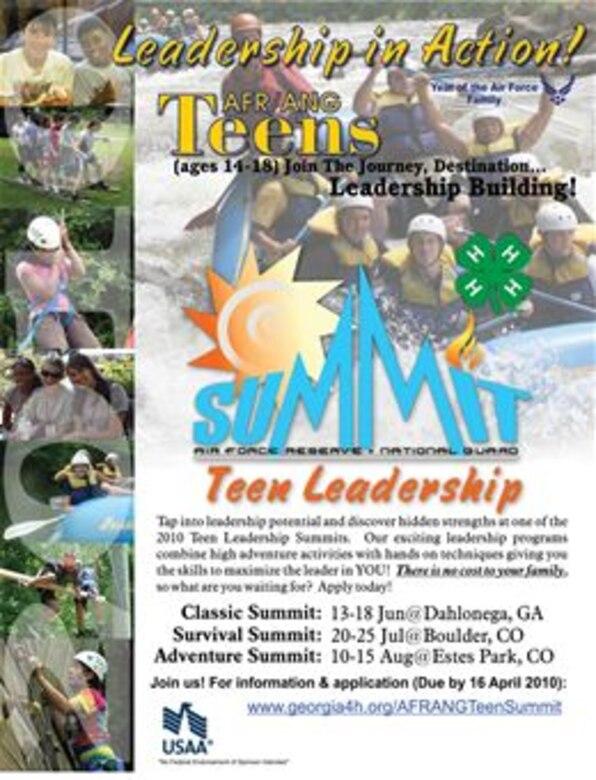 Teen Leadership Summit