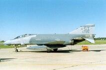 F-4 Phantom on the ramp in Springfield.